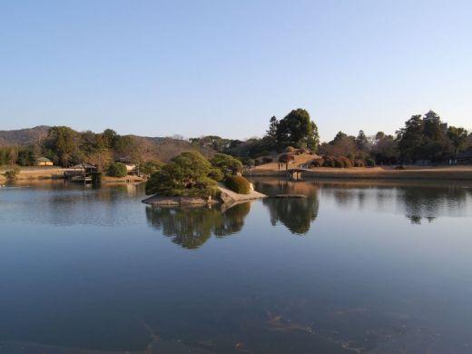 Bassin aquatique du jardin japonais de korakuen ou koraku - Bassin jardin japonais ...