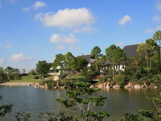 Bassins du jardin japonais morikami museum and japanese gardens de floride - Bassin jardin japonais ...